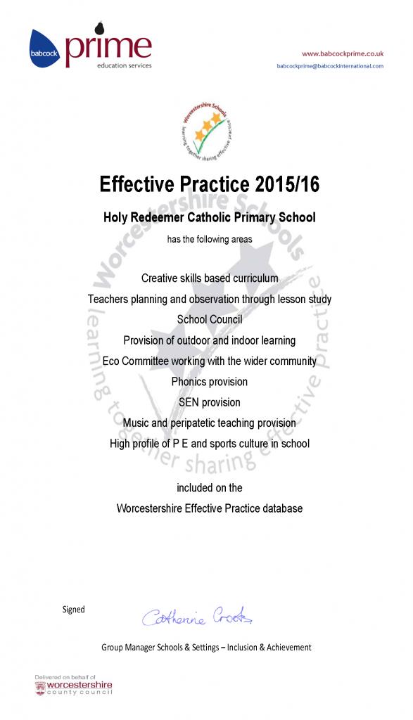 Effective Practice 2015/16